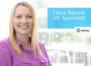 Leisa Rennie - HR Specialist